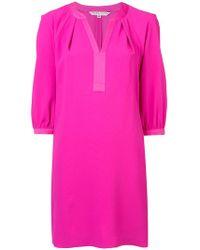 Trina Turk - Tonal Trim Mini Dress - Lyst