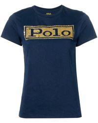 Polo Ralph Lauren - スパンコール Tシャツ - Lyst