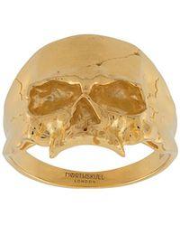 Northskull 'Medius Skull' Ring - Mettallic