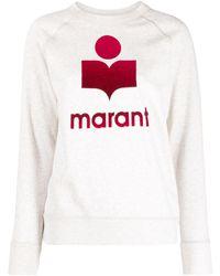 Étoile Isabel Marant ロゴ スウェットシャツ - ホワイト
