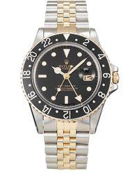 Rolex Наручные Часы Gmt Master Ii Pre-owned 40 Мм 1982-го Года - Черный