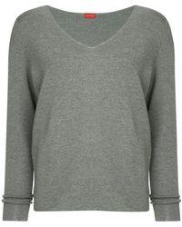 DES PRÉS - V-neck Knit Sweater - Lyst