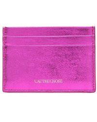 L'Autre Chose カードケース - ピンク
