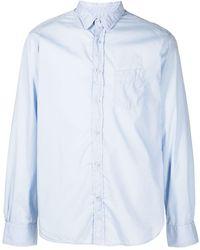 Officine Generale Легкая Поплиновая Рубашка Lipp - Синий