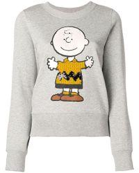 Essentiel Antwerp - Graphic Print Sweatshirt - Lyst