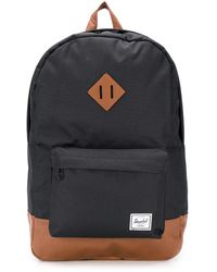 Herschel Supply Co. Mochila Heritage con diseño colour block - Negro