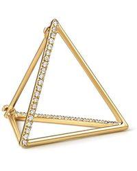 Shihara Diamond Triangle Earring 20 (02) - マルチカラー