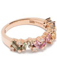 Suzanne Kalan Кольцо Rainbow Frenzy Из Розового Золота - Розовый
