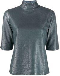 Filippa K Amber メタリック Tシャツ - マルチカラー