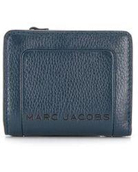 Marc Jacobs Кошелек Box С Эффектом Кракле - Синий