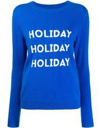 Chinti & Parker Holiday Sweater - Blauw