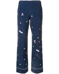 Mira Mikati - Fairy Tale Print Trousers - Lyst