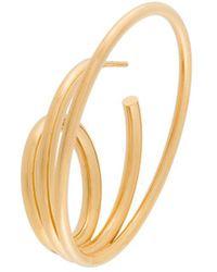 Charlotte Chesnais Ricoché Large Single Earring - Metallic