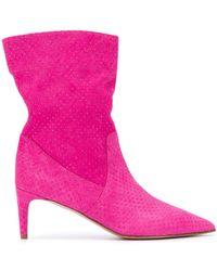 RED Valentino Softies ラインストーン ブーツ - ピンク