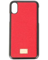 Dolce & Gabbana - Iphone X Case - Lyst