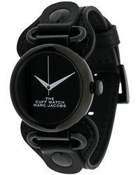 Marc Jacobs The Cuff 腕時計 - ブラック