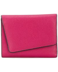 Valextra - Twisted Cardholder Wallet - Lyst