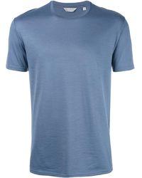 Gieves & Hawkes ウールtシャツ - ブルー