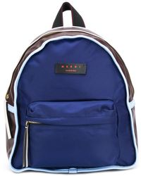 Marni Leather Backpack - Brown