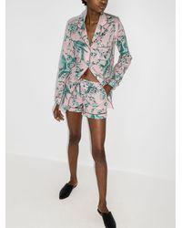 Desmond & Dempsey Пижама Bromley С Принтом - Многоцветный
