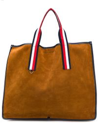 Tommy Hilfiger - Striped Handle Tote - Lyst