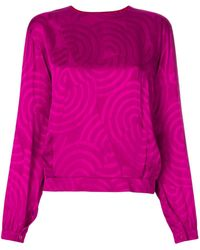 Dior Pre-owned Patterned Blouse - Pink