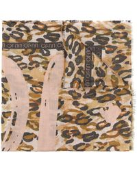 Liu Jo Sjaal Met Luipaardprint - Meerkleurig