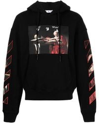 Off-White c/o Virgil Abloh - Caravaggio Painting Hoodie - Lyst