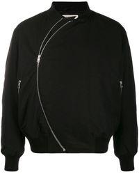 Bottega Veneta ジップ ボンバージャケット - ブラック