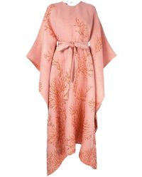 Taller Marmo Vestido con diseño de kimono - Rosa
