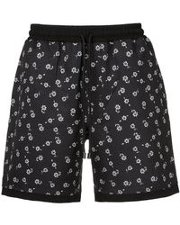 The Upside - Floral Running Shorts - Lyst