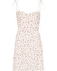 Reformation Mini-jurk Met Gestrikt Bandje - Meerkleurig