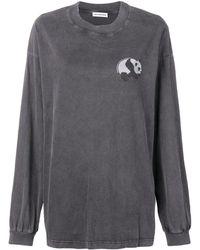 Balenciaga - Exclusivo para Farfetch - camiseta con motivo de panda - Lyst