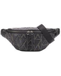 Karl Lagerfeld K/studio Studded Belt Bag - Black