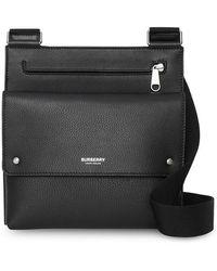 Burberry - Sac porté épaule à design texturé - Lyst
