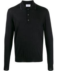 Ferragamo ニット ポロシャツ - ブラック