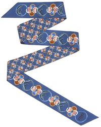 Fendi Geometric Print Wrappy - Blue