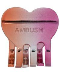 Ambush - ロゴ ヘアクリップ - Lyst
