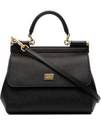 Dolce & Gabbana Lederen Tas - Zwart
