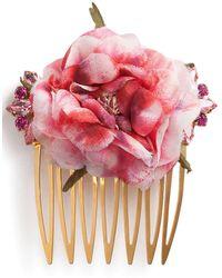 Dolce & Gabbana Декорированная Заколка Для Волос - Металлик