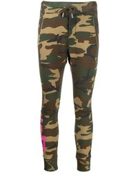 DSquared² Camouflage Print Track Trousers - Green