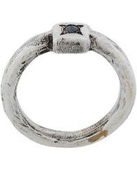 Henson Anello Diamanti - Metallic