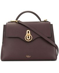 Mulberry Small Seaton Top Handle Bag - Purple