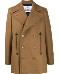 Vivienne Westwood Fitted double-breasted coat - Multicolore