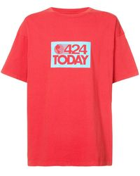 424 - Today T-shirt - Lyst
