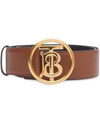 Burberry Cintura con fibbia - Marrone