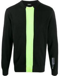 DIESEL K-tapey インターシャ セーター - ブラック