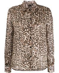 Pinko Camicia leopardata - Multicolore