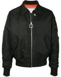 Wooyoungmi ボンバージャケット - ブラック