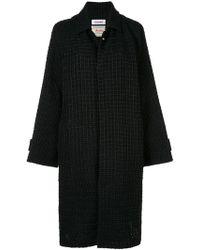 Coohem Tweed Coat - Black
